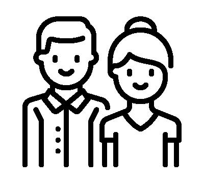 Grafik Angehörige Schwarz