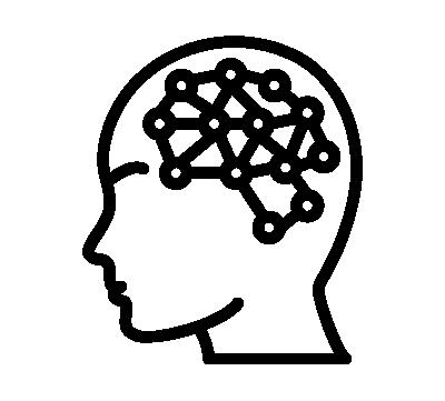Grafik Kopf Schwarz