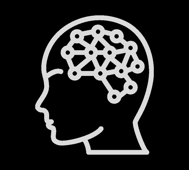 Grafik Kopf grau