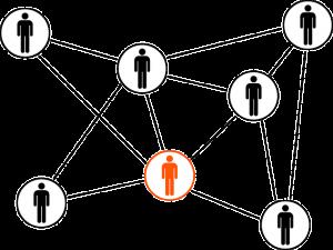 Grafik Netzwerk