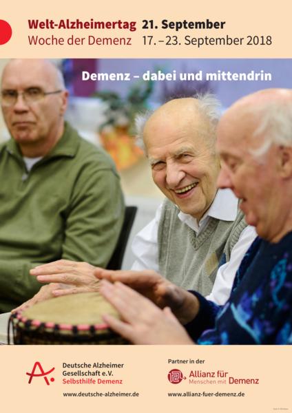 Welt-Alzheimertag Flyer