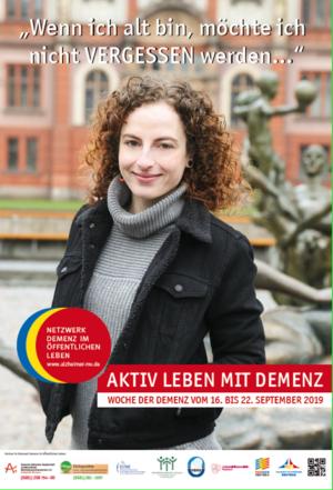 Netzwerk Demenz Im öffentlichen Leben Rostock