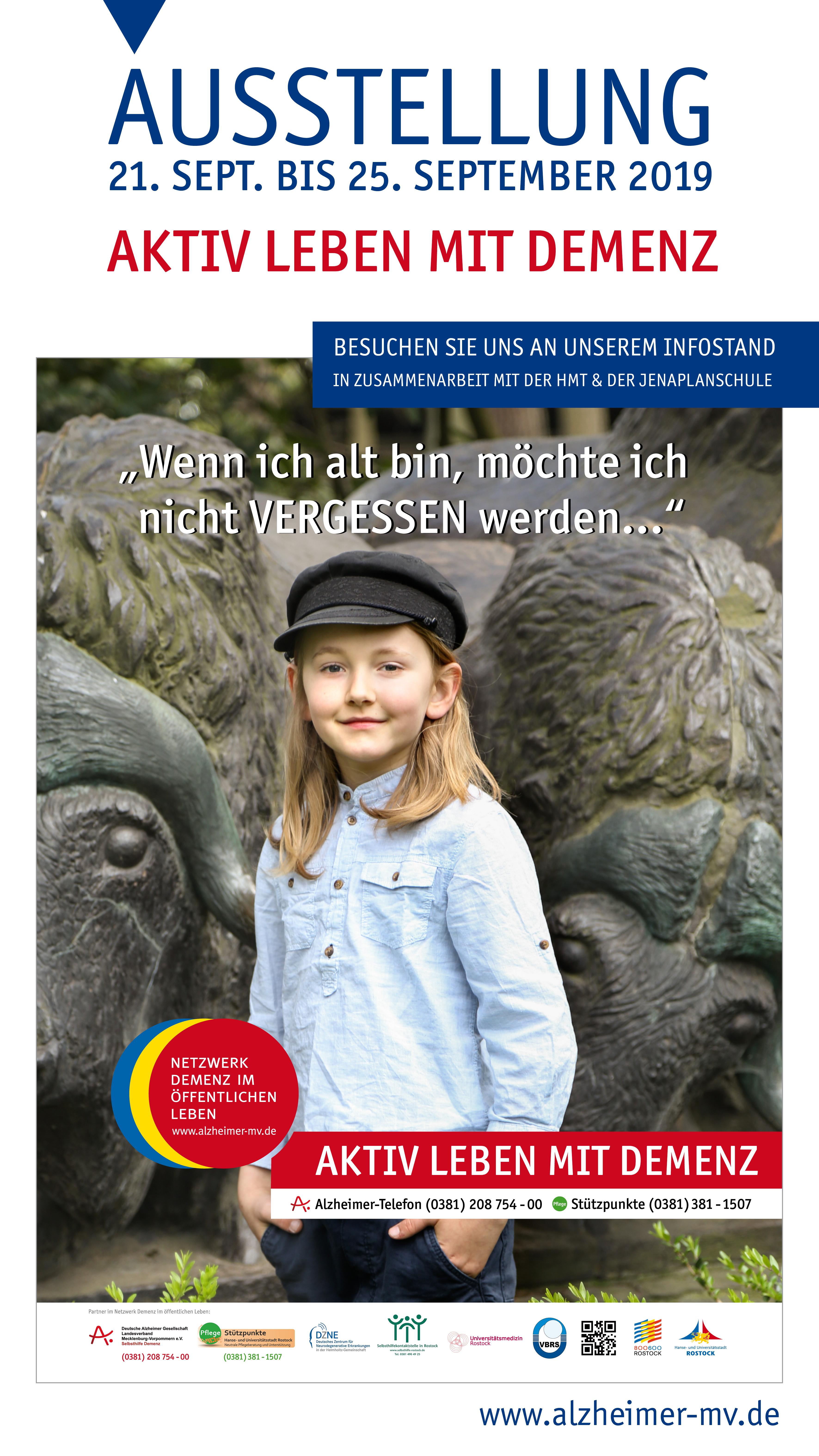 """Ausstellung """"Aktiv Leben Mit Demenz"""""""