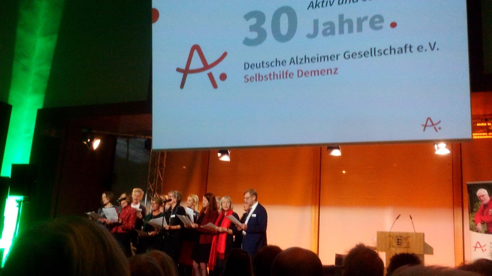 Jubiläumsveranstaltung Zum 30-Jährigen Bestehen Der Deutschen Alzheimer Gesellschaft E.V.