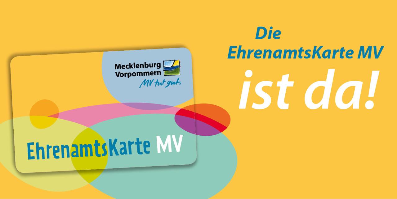 Die Ehrenamtskarte Für M-V Ist Da! – Wir Unterstützen Sie Bei Der Beantragung