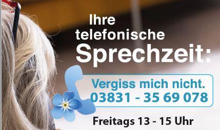 Telefonische Sprechzeit Stralsund